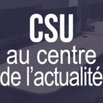CSU sécurité